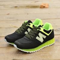 2014 neon n women's shoes sport shoes swing shoes casual shoes platform shoes elevator shoes