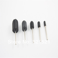Free Shipping 2014 New Nail Art Equipment 1 X 10Pcs Nail Drill Bits Used For Electric + Removing Dead Skin Can Choose Size