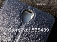 2014 HOT new 10 PCS 4 color luxury leather Slim Light Smart Noble concise Flip Stand Cover Case For Lenovo A850