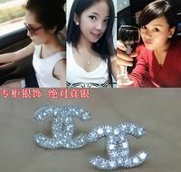 Stud Earrings Earrings For Women Silver Earrings Ear Cuff CC Earrings Women Earrings Earrings Silver 925 Studs Ear Rings