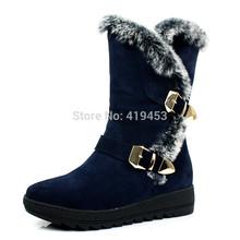 genuine fur boots promotion