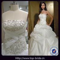 As047 Vintage Classical Hot Sale Suzhou Wedding Dresses