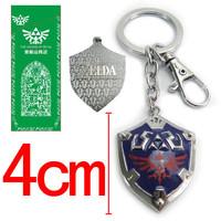 The Legend of Zelda keychains link Shield pendants free shipping