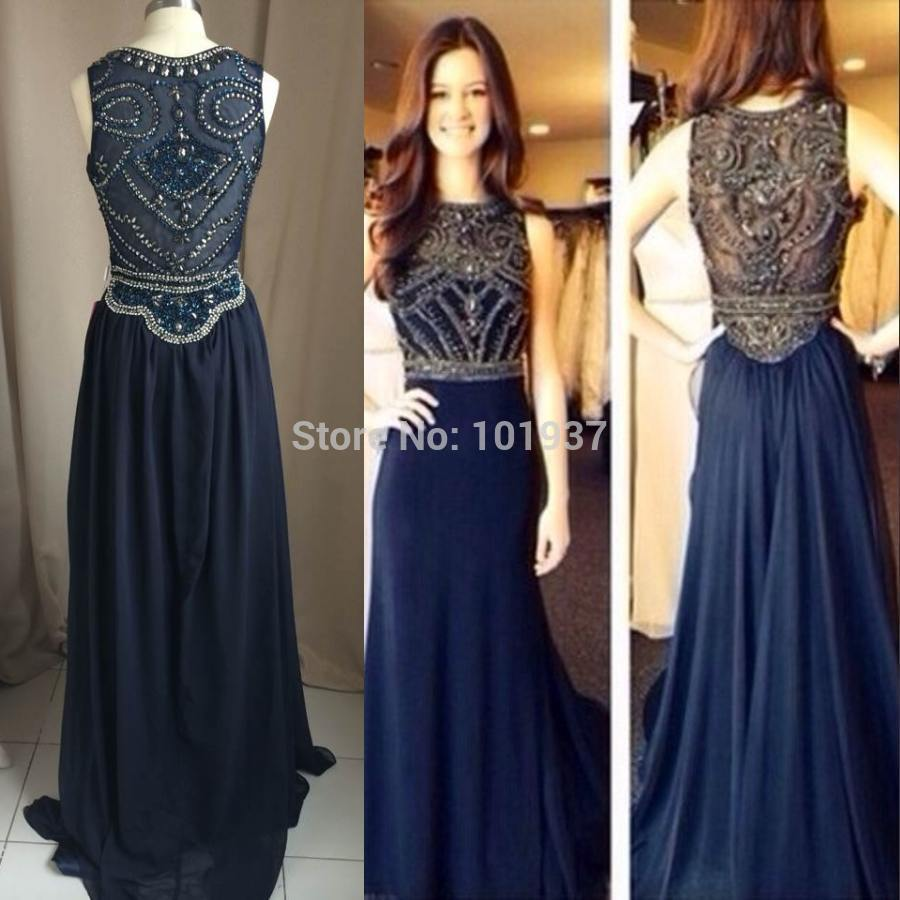 Dark Blue Formal Dresses