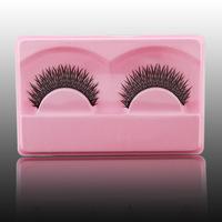 NewlookMilkywayHigh-end hand- placed cross handmade natural bare makeup encryption eyelash Model GD013
