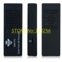 Free shipping MK908 RK3188 2GB/8GB Bluetooth Quad Core Android 4.2  Mini PC smart tv box Dongle Google TV HDMI MK 908 Player