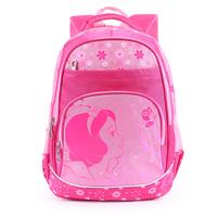 2014 BAG 1 - 3 primary school students female child school bag ultra-light relief waterproof backpack