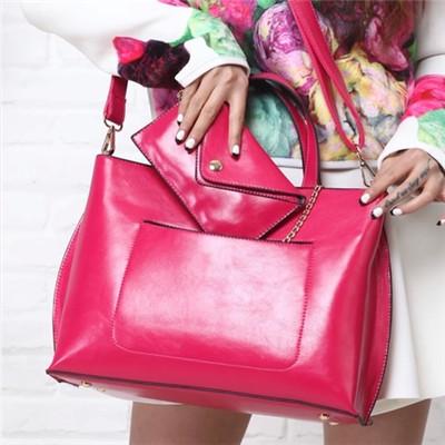 2014 donne borsa primavera catena moneta decorazione borsa moda casual delle donne olio borsa a tracolla in pelle messenger spedizione gratuita