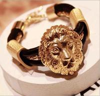 Retro fashion cortex metal lion, bracelet