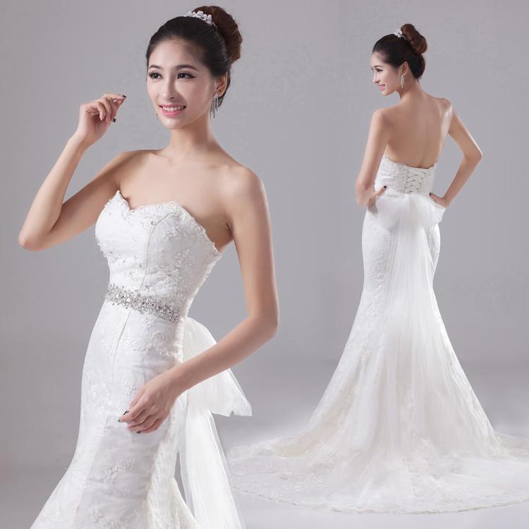 Diamond Fishtail Wedding Dresses : Popular swing wedding dress aliexpress
