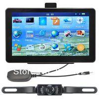 New 7 Inch Auto Car GPS Navigation Sat Nav Wireless Reverse Camera Bluetooth AV-IN 4GB Map WinCE 6.0 FM Mp3 Mp4 free shipping