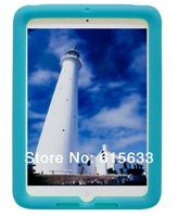 For Ipad Air Protective Case(Does not fit Ipad 4,3,2) -Bobj Rugged Case drop protection for Ipad 5 -Terrific Turquoise