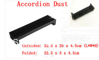 "Accordion Shaped Stretchy 12.8"" Length Dust Protective Cover for CNC Machine"