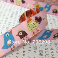 Cartoon ribbon 16 mm (5/8 ') High quality bird Jacquard lace 10yard/set 2014 NEW 100% Polyester