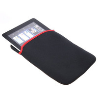 "Portable Soft Protect Cloth Cover Case Bag Pouch for 8"" Tablet PC MID Notebook - Black"