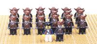 Free Shipping 20PCS/LOT Diy Building Block Doll FIT to All brand  LXGX Decool Siluban Legohome Building Blocks
