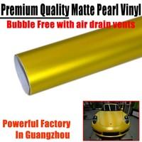 Car Styling Matte Pearl Vinyl Film Ice Film Matte Metallic Vinyl Car Wrap Car Full Body Stickers With Air Free Bubbles 1.52*20m