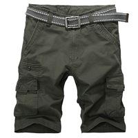 2014 new arrival summer new hot multi-pocket shorts for men fashion casual men shorts 4 colors 29/30/31/32/34/36/38