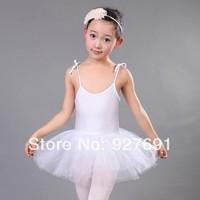 Free Shopping Female Child Ballet Skirt Child Dance Tulle Dress Infant Suspender Skirt