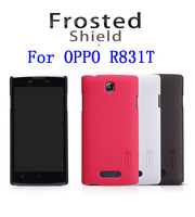 NILLKIN Super Frosted Shield Case For OPPO R831T With Screen Protector + Retailed Package + Free Shipping