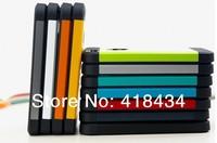 NEWEST !!! Fashion Korean Style SGP Case For iPhone 4 4S Tough Armor Neo Hybird SPIGEN Slim Hard Back Cover 11 Colors 100PCS