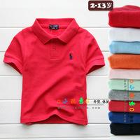 Children's Clothing 100% Cotton Children T-Shirt Children's Clothing Boy Summer Shirts 2014 Summer T-shirt Cotton