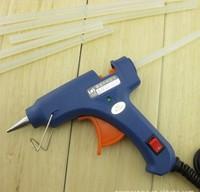 high-quality 10pcs/lot Translucence White Hot Melt Glue Stick adhesive Environmental 7x250mm , DIY tools parts accessories