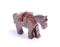 Whole Sale 10PCS  HORSES Minifigures DIY building block dolls compatible with LXGX Sluban Woma Wangge