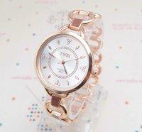 Free Shipping wholesale Analog Quartz Watch women fashion Rose Gold Tone wrist watch KL8725