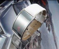 Free Shipping fashion Leather Wrist Watch men women Sports Digital Led Watch YW984