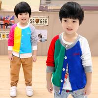 2014 spring autumn children's clothing sweater shirt baby boy girl clothing male female child fleece cardigan child outerwear