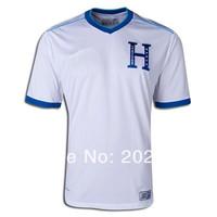 Honduras soccer jersey, 14/15 best thai quality Honduras wc home white fans version soccer football jersey, size:S/M/L/XL