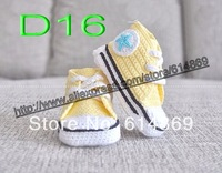 free shipping, 150pair/lot New High Top strap Sneaker Crocheted Baby Booties 0 to 18 months, infant  Handmade sprot shoes