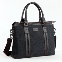 Man bag commercial canvas male bag handbag one shoulder cross-body backpack briefcase laptop bag