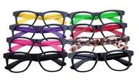 Skull glasses fashion non-mainstream decoration glasses lens eyeglasses frame
