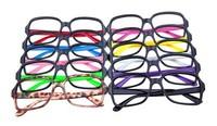Two-color fashion glasses frame glasses frame non-mainstream eyeglasses frame decoration frame