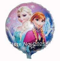 Free shipping 50 pcs/Lot foil balloon ,18 inches Frozen balloons,Princess balloon