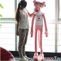 100cm Genuine nici plush toy doll doll pink leopard naughty Sweetheart Pink Panther birthday present for his girlfriend