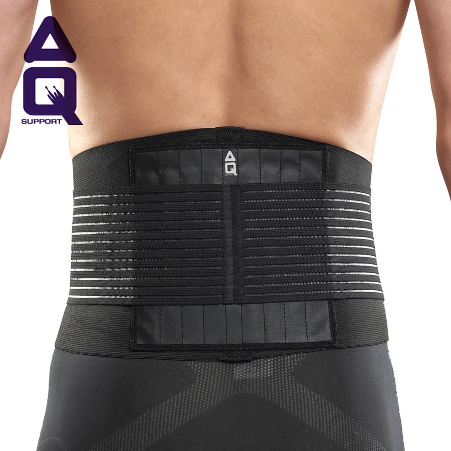 aq lumbar waist support basketball badminton waist support belt female male sports waist back support S M L XL(China (Mainland))