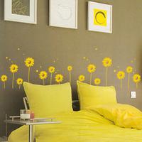 Little daisy - tijuexian waistline stickers kitchen cabinet glass sliding door ofhead wall stickers
