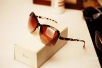 oculos de sol sunglasses women brand designer vintage frog glasses 2014 new fashion sunglass free shipping SF8706