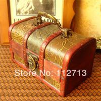 New Chinese candy box handmade wood box 14.5*8*8cm Girl gift box/retro box wholesale