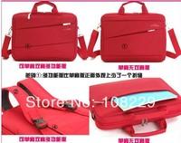 Free shipping High quality 13 14 15 15.6 double  Shoulder Bag Male Laptop Bag Men Big Bag Trend Casual Bag