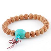 Limited edition 6 small king kong bodhi son of bracelet 8mm short pile dragon meat bracelets