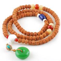 Tibetan 6 8mm small king kong bodhi son of necklace red Men bracelet