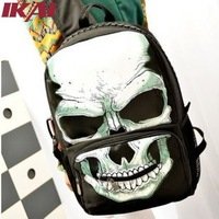 SB018 Skullcandy Ladies Canvas Backpack Fashion Casual Rucksack Juniors Mochila Women Shoulder Bag Brand New Women's Backpack