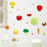 Fashion refrigerator stickers baby fruit
