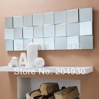MR-2D0092  Zig Zag facet wall mirror for headboard