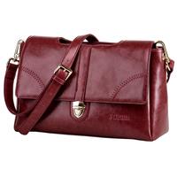 Fashion vintage women leather handbags cowhide cross-body designer handbags high quality women messenger bag genuine leather bag