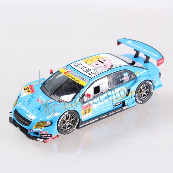 1:43 toyota racing car die cast model(China (Mainland))